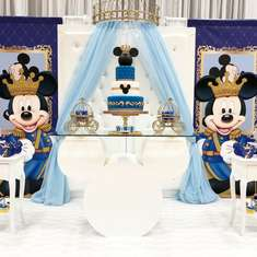 Manson, The Royal Prince birthday party - Mickey Mouse/ Prince