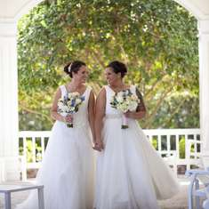 Emma and Christie's Romantic Florida Wedding - None