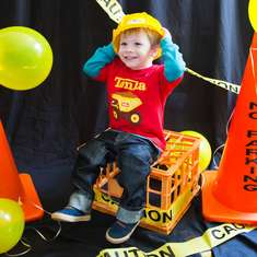Sebastian's Construction Truck Party - Construction Theme
