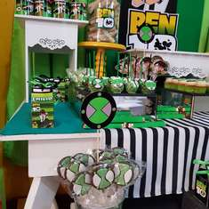 Ben 10 birthday party -  Ben 10