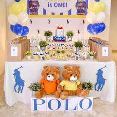 Polo Themed 1st birthday party - Polo Theme