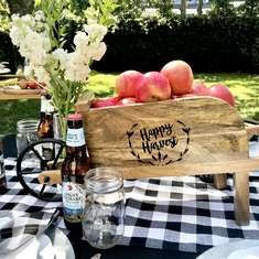 Fall Apple Harvest Table - Farmhouse