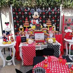 Mickey mouse birthday party - Mickey mouse