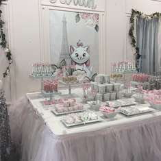 Sarah's Parisian Marie 1st Birthday  - Parisian Marie from The Aristocats