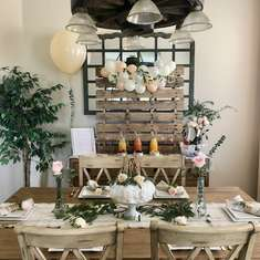 Rustic Bridal Brunch - Rustic