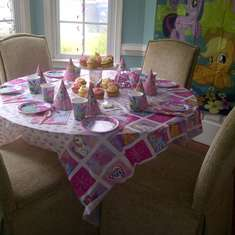 My little pony 6th birthday - My little piny
