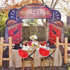 Last Rodeo Bridal Shower - Western