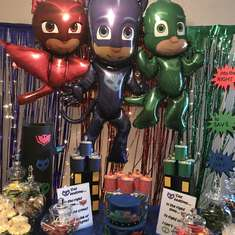 Gorldo's PJ Mask birthday party - Pj masks