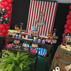 Jack and the Neverland Pirates birthday party - Jake and the Neverland Pirates