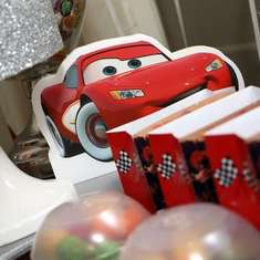 Cars birthday party - Cars (Disney movie)a