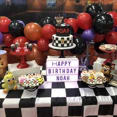 Noah's Five Nights at Freddy's Birthday Party - Five nights at freddys