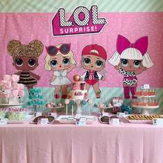 Kayla's LOL Surprise Party ! - LOL Surprise Dolls