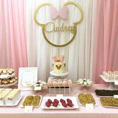 Audrey's Minnie Mouse Birthday! - Minnie Mouse