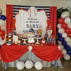 Baseball Baby Shower - Baseball
