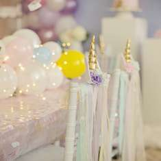 Unicorn birthday party  - Unicorn