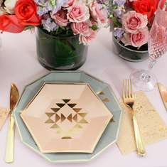 Modern Chic Bridal Shower - None
