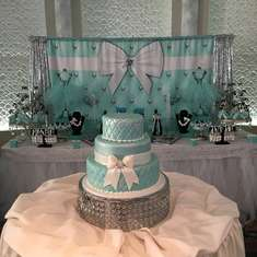 Meropi & Co. Tiffany Themed Baptism  - Tiffany