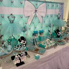 Tiffany Themed Baptism  - Tiffany & Co.