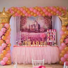 Princess birthday party - Princess