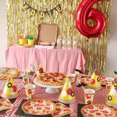 It's-a Perfect Pizza Party! - Pizza