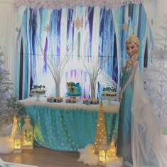 Taya's 5th Frozen Party - Frozen (Disney)