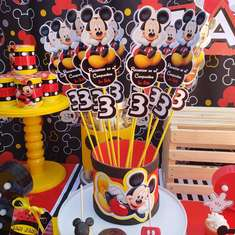 Cumple mickey - Mickey mouse