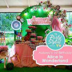 Aubrey's Wonderland  - Alice in Wonderland