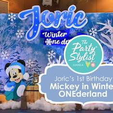 Joric's Winter Wonderland - Mickey Mouse in Winter Wonderland