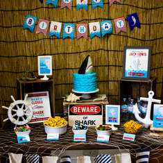 Sharknado Birthday: A Storm is Coming - Sharks