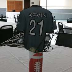 Kevin Football 21st birthday party - Philadelphia Eagles
