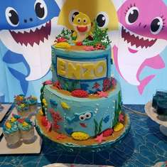 Baby shark birthday party - Baby shark