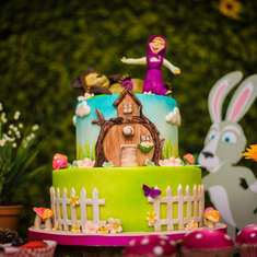 Masha and the Bear 3rd birthday party - Masha and the bear