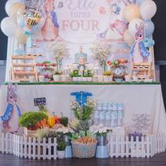 Peter Rabbit 4th birthday party - Peter Rabbit Theme