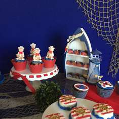 Anthony is turning two - Nautical