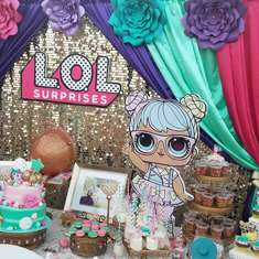 CAMILA'S LOL 6TH BDAY PARTY - Lol suprise dolls