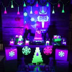 Nutcracker - Neon nutcracker birthday party