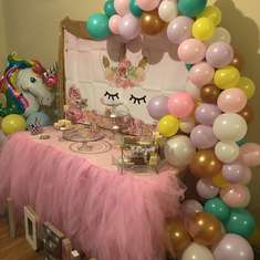 Kadence 1st Birthday  - Unicorn