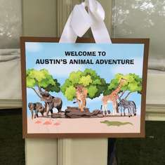 Austin's Animal Adventure - Safari/ Zoo Animals