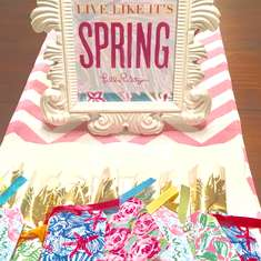 Lilly Pulitzer Tea - Lilly Pulitzer, summer, spring, tea, coffee, bright