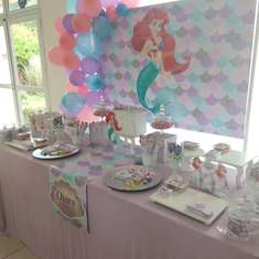 Little Mermaid birthday party - Mermaid
