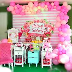 Nalani Snow's Flamingo Baby Shower - Flamingo