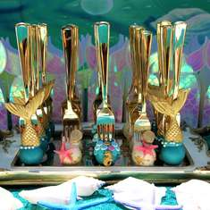 Magial Mermaids - Jewels of the Sea - Mermaids 3rd Birthday Party