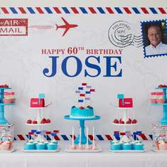Jose' Post Office Themed 60th Birthday - US Mail