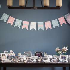 Mustache & Bows Gender Reveal Party - Mustache & Bows