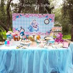 Dimitra's Alice in Wonderland Themed Baptism - Alice in Wonderland