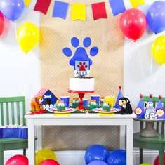 Puppy Birthday Party for Cricut - Paw Patrol