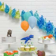Dinosaur Birthday Party - Toddler Dinosaur Party