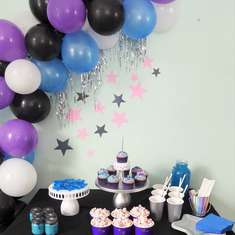 Galaxy & Twinkling Star Themed Birthday Party - Galaxy and Twinkling Star