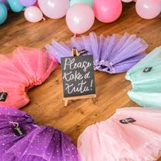 Piper's Ballerina Birthday Party - Dance party