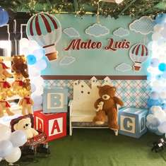 Mateo Luis' Bear Theme Baptism - Teddy Bear